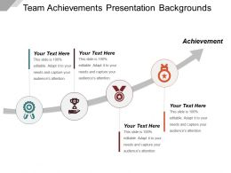 Team Achievements Presentation Backgrounds