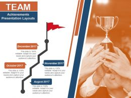 Team Achievements Presentation Layouts
