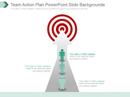 Team Action Plan Powerpoint Slide Backgrounds