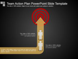 Team Action Plan Powerpoint Slide Template