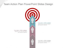 Team Action Plan Powerpoint Slides Design