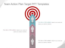 Team Action Plan Target Ppt Templates