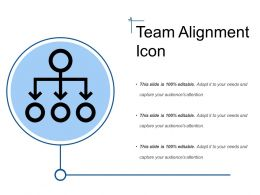 Team Alignment Icon