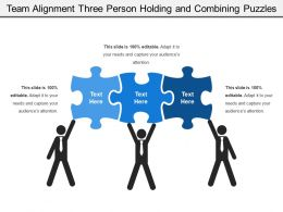 team_alignment_three_person_holding_and_combining_puzzles_Slide01