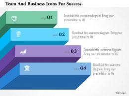 Team And Business Icons For Success Powerpoint Templates
