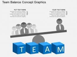 Team Balance Concept Graphics Flat Powerpoint Design