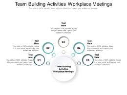 Team Building Activities Workplace Meetings Ppt Powerpoint Presentation Styles Master Slide Cpb