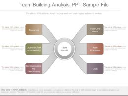 Team Building Analysis Ppt Sample File