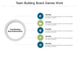 Team Building Board Games Work Ppt Powerpoint Presentation Infographic Template Picture Cpb