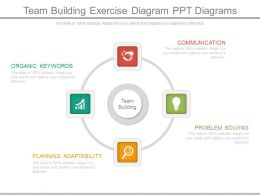 Team Building Exercise Diagram Ppt Diagrams
