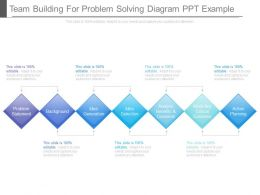 Team Building For Problem Solving Diagram Ppt Example