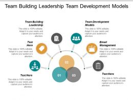 Team Building Leadership Team Development Models Email Management Cpb