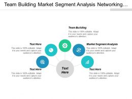 Team Building Market Segment Analysis Networking Communication Strategy Cpb