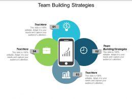 Team Building Strategies Ppt Powerpoint Presentation Styles Diagrams Cpb
