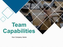 Team Capabilities Powerpoint Presentation Slides