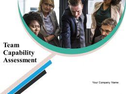 Team Capability Assessment Powerpoint Presentation Slides
