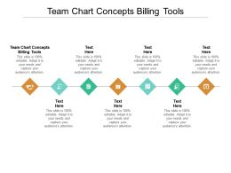 Team Chart Concepts Billing Tools Ppt Powerpoint Presentation Summary Maker Cpb