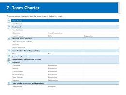 Team Charter Look Like Ppt Powerpoint Presentation Ideas Show