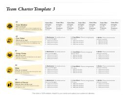 Team Charter Template Brainstorm M754 Ppt Powerpoint Presentation Layouts Show