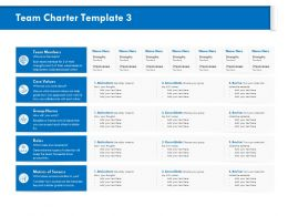 Team Charter Template Consolidate M826 Ppt Powerpoint Presentation Background Images