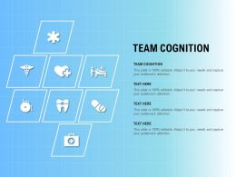 Team Cognition Ppt Powerpoint Presentation Infographic Template Format Ideas