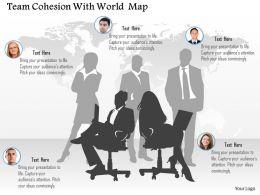 team_cohesion_with_world_map_ppt_presentation_slides_Slide01