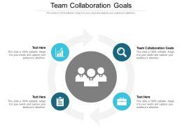 Team Collaboration Goals Ppt Powerpoint Presentation Summary Templates Cpb