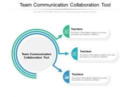 Team Communication Collaboration Tool Ppt Powerpoint Presentation Layouts Portfolio Cpb