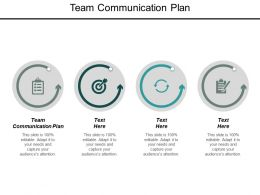Team Communication Plan Ppt Powerpoint Presentation Outline Objects Cpb