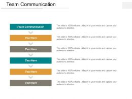 Team Communication Ppt Powerpoint Presentation Model Themes Cpb