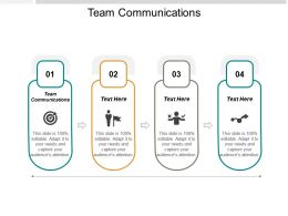 Team Communications Ppt Powerpoint Presentation Model Tips Cpb