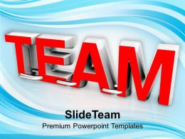 Team Concept Business Teamwork PowerPoint Templates PPT Themes And Graphics 0213