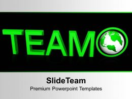 Team Concept Global Business Powerpoint Templates Ppt Backgrounds For Slides 0113