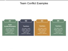 Team Conflict Examples Ppt Powerpoint Presentation Slides Shapes Cpb