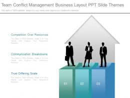 Team Conflict Management Business Layout Ppt Slide Themes