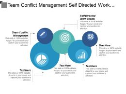 Team Conflict Management Self Directed Work Teams Brand Equity Cpb