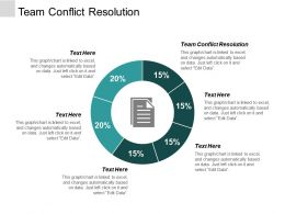 Team Conflict Resolution Ppt Powerpoint Presentation Professional Design Ideas Cpb