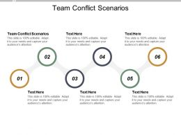 Team Conflict Scenarios Ppt Powerpoint Presentation Icon Background Image Cpb