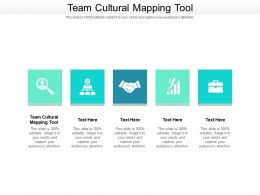 Team Cultural Mapping Tool Ppt Powerpoint Presentation Ideas Graphics Example Cpb