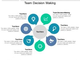 Team Decision Making Ppt Powerpoint Presentation Ideas Example Cpb