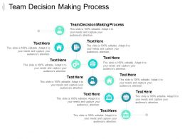 Team Decision Making Process Ppt Powerpoint Presentation Infographic Template Slide Cpb