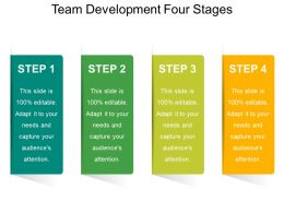 Team Development Diagram With 4 Stages 1
