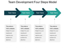 Team Development Four Steps Model