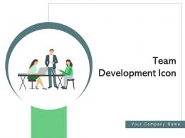 Team Development Icon Recovery Phase Agile Sprint Management Organization
