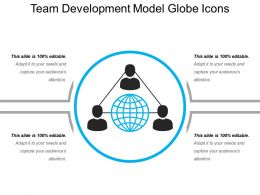 Team Development Model Globe Icons