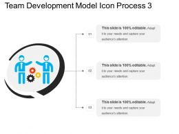 Team Development Model Icon Process 3
