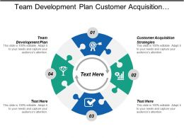 Team Development Plan Customer Acquisition Strategies Customer Experience