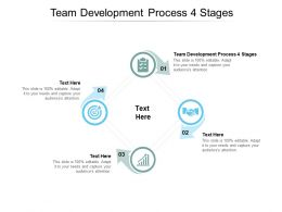 Team Development Process 4 Stages Ppt Powerpoint Presentation Pictures Examples Cpb