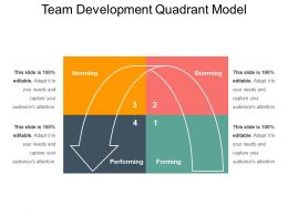 Team Development Quadrant Model