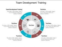 Team Development Training Ppt Powerpoint Presentation Summary Designs Cpb